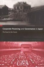 Corporate Financing and Governance in Japan: The Road to the Future-ExLibrary