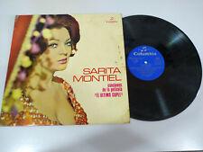 """Sara Montiel el Ultimo Cuple Sarita Columbia 1962 - LP Vinilo 12"""" VG/VG"""