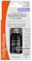Sally Hansen Treatment Diamond Flash Fast Dry Top Coat Z3482 Clear Transparent