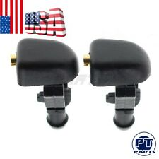 Pair New Windshield Washer Nozzles For Ford F150 Mercury Montego Lincoln Mark LT