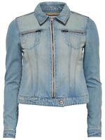 8/18 NEU ONLY Damen Jeansjacke Jacke onlCHRIS ZIP DNM JACKET AL Jeans Gr. 38