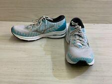 Mizuno Wave Rider 24 Waveknit Running Shoe - Women's Size 9, Gray/Blue