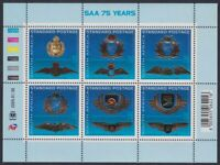 SOUTH AFRICA - 2009 75th Anniversary of SA Airways sheetlets (2) (MNH)