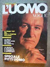 L'UOMO VOGUE= N° 99 = SETTEMBRE 1980 =GENE HACKMAN = PAG. 620 = ED. CONDE' NAST