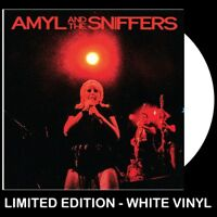 Amyl And The Sniffers - Big Attraction & Giddy Up **WHITE COLOUR VINYL LP** PUNK