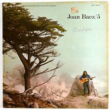 Vinyl Album Joan Baez 5 1964 Vanguard VRS-9160