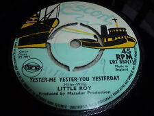 """LITTLE ROY-Yester Me Yester You YESTERDAY VINYL 7"""" REGGAE ESCORT S WONDER"""