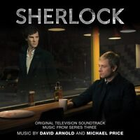 SHERLOCK 3 - ORIGINALT TV SOUNDTRACK (DAVID ARNOLD/MICHAEL PRICE) CD NEU
