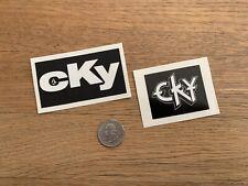 CKY Camp Kill Yourself Sticker Volcom Skateboard Bam Margera Jack Ass