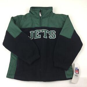 (Age 4-5) Toddler Kids Boys NFL TEAM Apparel NEW YORK JETS Winter Coat Jacket