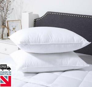 Premium Department Store Luxury Bounce Back Hollowfibre Pillow Pair
