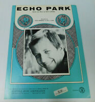 Echo Park Keith Barbour Buzz Clifford Sheet Music 4 pages 1969