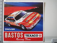 Aufkleber Sticker Toyota Bastos - Texaco Racing Team - Spa - 1985 - 24h (M1143)