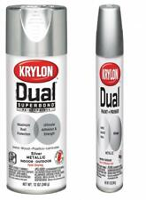 Krylon K08846007 'Dual' Superbond Paint and Primer Metallic Silver