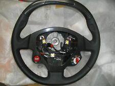 Ferrari 599 GTB Fiorano Carbon Black LED Steering Wheel P/N 80188500 VOLANTE