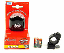 Planet Bike Spot LED Front Bicycle Headlight Black -NEW High Visibility