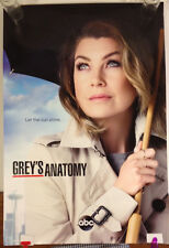 Grey's Anatomy Promotional Poster ABC Television Ellen Pompeo 27 x 40 excellent
