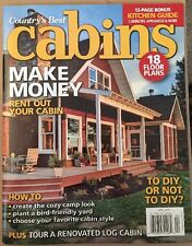 Country's Best Cabins Makr Money Rent Floor Plans How Tos Apr 2015 FREE SHIPPING