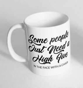 Some People Printed Cup Ceramic Novelty Mug Funny Gift Coffee Tea 372