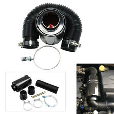 """Perfect 3"""" Filter Box Black Carbon Fiber Induction Ram Cold Air Intake System"""
