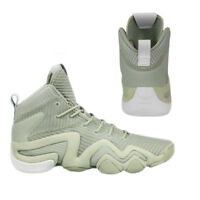 Adidas Crazy 8 ADV Primeknit Mens Lace Up Trainers Shoes Sesame BY3603 M7