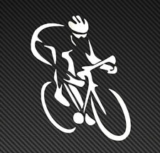 Bike Crit Sticker Decal Car Truck road mtb bike tdf cycling criterium cyclist