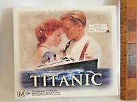 VINTAGE 1997 TITANIC MOVIE DELUXE VHS PRESENTATION GIFT SET AUSTRALIA LIKE NEW!!