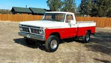 1975 Ford F250 HighBoy 4x4 with 360ci V8 and service bed
