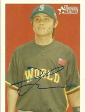 2006 Bowman Heritage YUNG CHI CHEN Signed Card autograph MARINERS RC