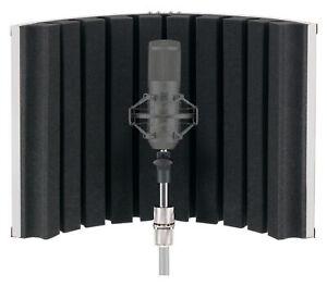 Portabler Mikrofon Absorber Studio Mic Screen Hall Diffusor Echo Schirm Aufnahme