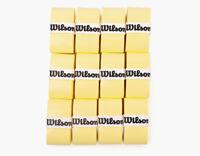 12 Pack WilsonZ4016WHTennisBadmintonProOvergripComfortWhiteSprots/_VU