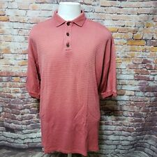 TOMMY BAHAMA MEN'S WASHED SILK BLEND POLO SHIRT SIZE M  Z07-24