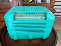 Antique RCA Victor 56X Radio, New Capacitors, Great Reception, Bluetooth Ready