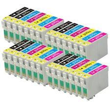 28 Ink Cartridges (Set+Bk) for Epson Stylus Photo PX650, PX730WD, R265, RX585
