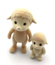 Dolls Bears 2pcs Sylvanian Families sheep Family Epoch animals baby Kids Toys