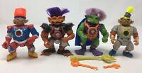 4 Stone Protectors Toy Lot Bundle Figures 90s Ace Novelty Action Figure Vintage