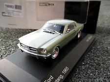 1/43 WhiteBox WB121 Ford Mustang 1965 grünmetallic limitiert + OVP !