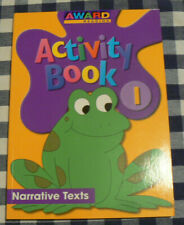 School Specialty Award Reading Activity Book,gr.1/1st Narrative Texts,stickers
