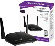 Netgear AC1200 Wifi Cable Modem Router 802.11 Dual Band Gigabit IN Box!