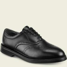 RED WING Mens 9 OXFORD SHOES Dress Casual BLACK LEATHER Wingtip    w