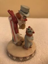 Circus Royale Wallace Berrie 9609 Clowns Figurine 4.5""