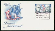 MayfairStamps France 1976 America's Bicentennial Cover WWH34555