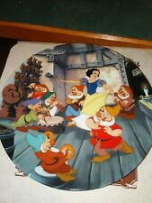"""Collector's plate Snow White Knowles """"The Dance of Snow White and the 7 Dwarfs"""""""