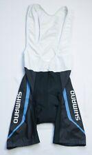 Shimano Cycling Bib shorts men size M Medium black BIKE WEAR PADDED SPORTS