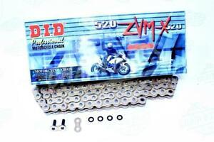 DID 520 x 118 Links ZVMX Super Street Series Xring Sealed Gold Drive Chain