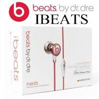 iBeats by Dre Silver Headphones Earphones Brand new Sealed Packaging - Local