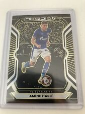 Amine Harit Schalke 04 Panini Obsidian 2020/2021 #71 Parallel Yellow 4/10