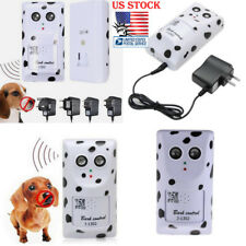 US Pets Anti No Bark Control Device Ultrasonic Dogs Stop Barking Silencer Hanger
