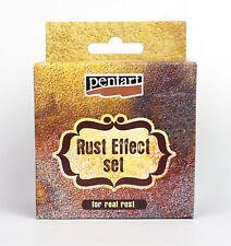 Pentart Rust effect powder + 3 reagents Complete set