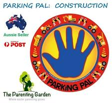 Parking Pal Car Magnet - Construction - Car Decal, Children Safety in Carparks